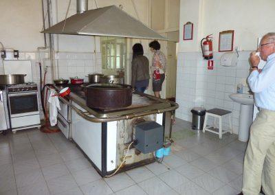 2011 - Hulp aan het bejaardentehuis in Gheorgheni