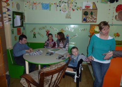 2011 - Hulp aan de school van Kinka met gehandicapte kinderen in 2011 en 2012