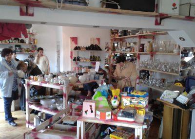 2014 - Ingebruikname van de winkel in Csikszereda (de provincie hoofstad van Haragita)
