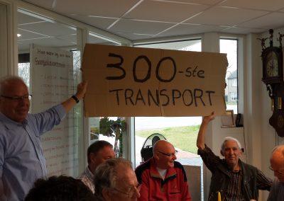 2014 - Het 300e transport vanaf 1997 is een feit!!