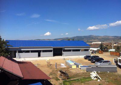 2014 - De bouw van het sorteercentrum en de opening in november